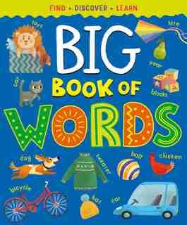 Big Book Of First Words by Margarita Kukhtina