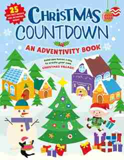Christmas Countdown: An Adventivity Book - Build One House A Day To Create Your Own Christmas Village! 25 Cut-out Houses by Clever Publishing