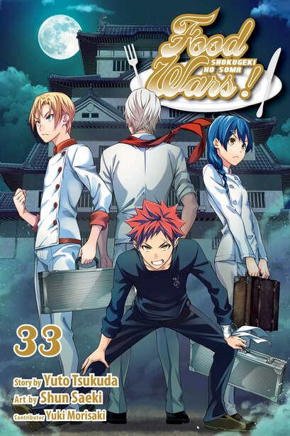 Food Wars!: Shokugeki no Soma, Vol. 33 by Yuto Tsukuda