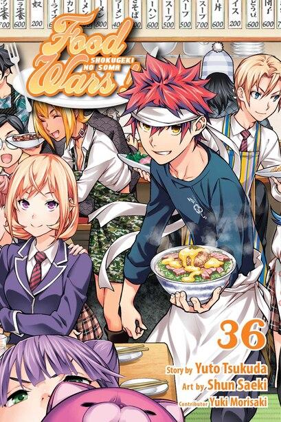 Food Wars!: Shokugeki No Soma, Vol. 36 by Yuto Tsukuda