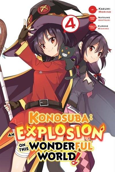 Konosuba: An Explosion On This Wonderful World!, Vol. 4 (manga) by Natsume Akatsuki