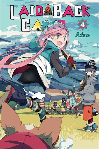 Laid-back Camp, Vol. 4 by Afro