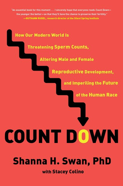 Count Down: How Our Modern World Is Threatening Sperm Counts, Altering Male And Female Reproductive Development by Shanna H. Swan
