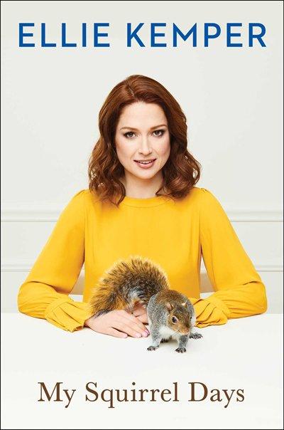 Book My Squirrel Days Indigo Signed Edition by Ellie Kemper