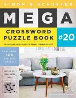 Simon & Schuster Mega Crossword Puzzle Book #20 de John M. Samson