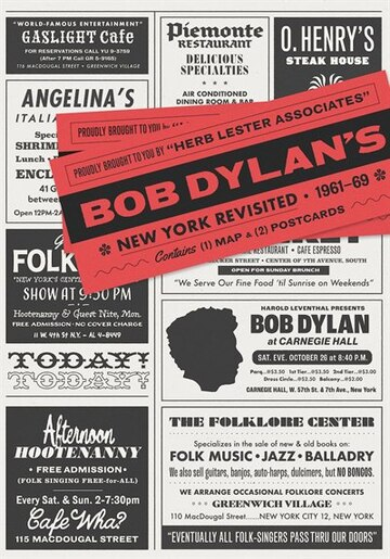 Bob Dylan's New York Revisited by Herb Lester