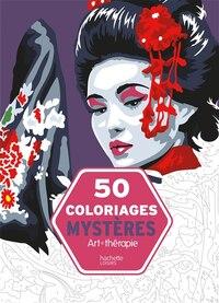50 coloriages mystères art-thérapie