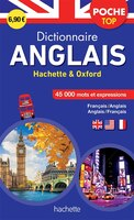 Dictionnaire poche top anglais Hachette & Oxford