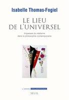 Lieu de l'universel (Le)