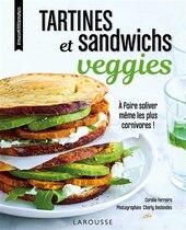 Book Tartines et sandwichs veggies by Coralie Ferreira