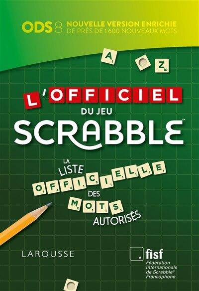 L'OFFICIEL DU SCRABBLE 8ÈME ÉDITION by COLLECTIF