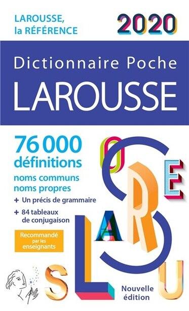 Larousse de poche 2020 by Larousse