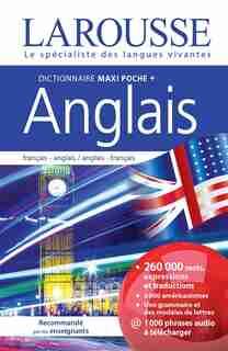 DICTIONNAIRE LAROUSSE MAXI POCHE PLUS ANGLAIS by Larousse