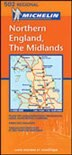 England Midlands by Michelin