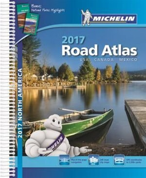 north america road atlas 2017
