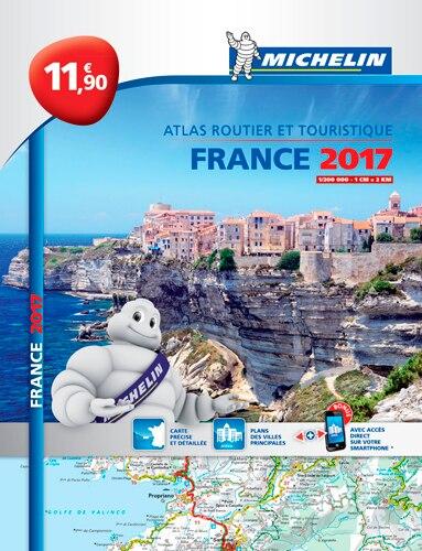 Atlas routier et touristique : France 2017 by COLLECTIF