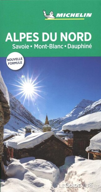 Alpes Du Nord - Guide Vert by COLLECTIF