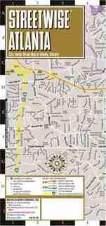 Streetwise Atlanta Map by Michelin