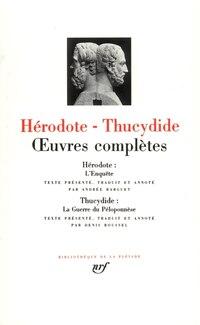 Hérodote Thucydide Œuvres Complètes
