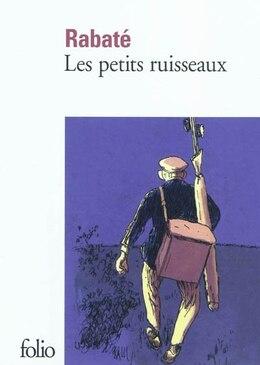 Book Les petits ruisseaux by Rabaté