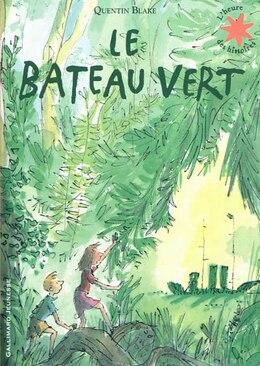 Book Le bateau vert by Quentin Blake