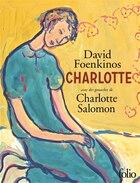 Charlotte avec des gouaches de Charlotte Salomon