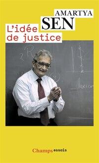 L'idée de justice: Nouvelle édition