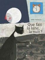 Que fait la lune la nuit
