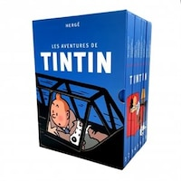 COFFRET Les aventures de Tintin