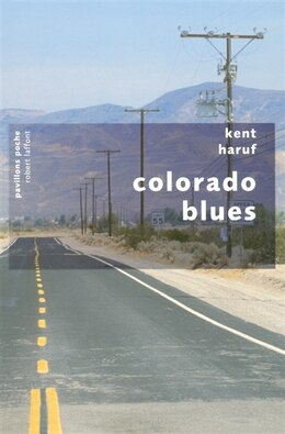 Book COLORADO BLUES (POCHE) by Kent Haruf