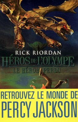 Book HEROS DE L'OLYMPE T1 -LE HEROS PERDU by Rick Riordan