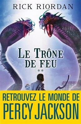 Book TRONE DE FEU T2 -LE by Rick Riordan