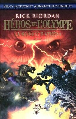 Book Héros de l'Olympe tome 3 marque d'Athena by Rick Riordan