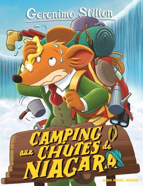 Geronimo Stilton tome 52 Camping aux chutes du Niagara: Nouvelle couverture by Geronimo Stilton