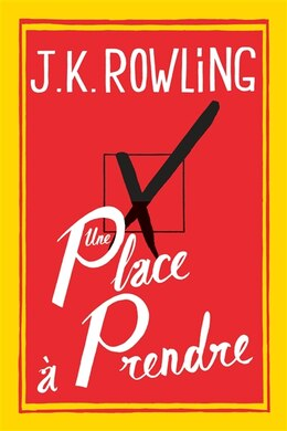 Book Une Place À Prendre by ROWLING,JOANNE KATHLEEN