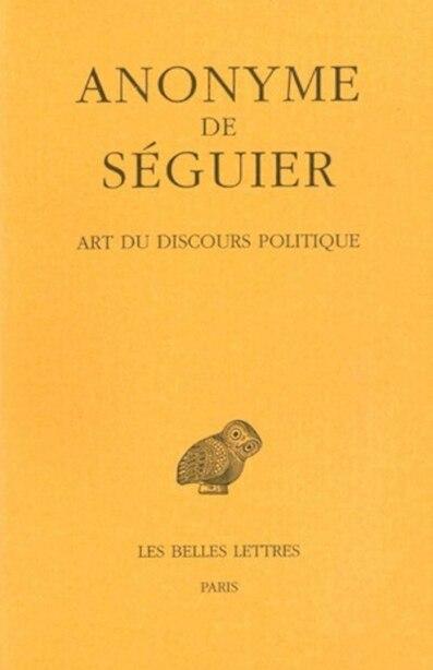 Art du discours politique by Anonyme de Séguier