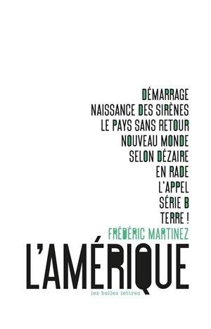 Amérique (L') by Frédéric Martinez