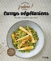 Book Currys végétariens by Julie Soucail