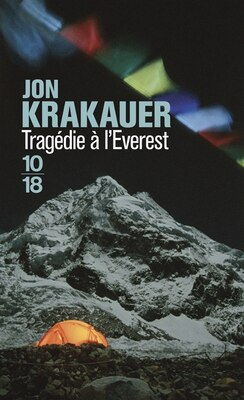 Book TRAGEDIE A L'EVEREST by Jon Krakauer