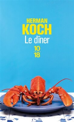 Book Le dîner by Herman Koch