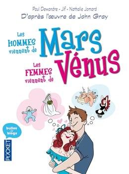 Book Les hommes viennent de Mars, les femmes viennent de Vénus version BD by John Gray