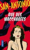 Book Rue des macchabées by San Antonio