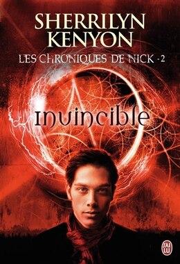 Book Les chroniques de Nick tome 2 invincible by Sherrilyn Kenyon