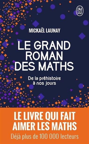 Le grand roman des maths de Mickael Launay