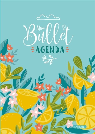 Bullet agenda 2020 +450 stickers -mon by COLLECTIF