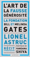 ART DE LA FAUSSE GÉNÉROSITÉ- LE CAS DE L'ÉCOLE DE LA FONDATION BILL ET MELINDA GATES