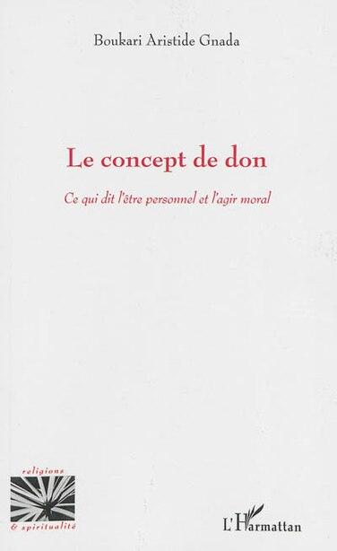 Le concept de don by Boukari Boukari Aristide Gnada