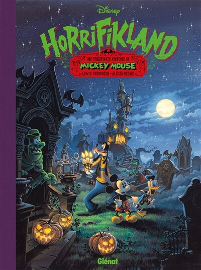 DISNEY HORRIFIKLAND by Lewis Trondheim