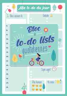 Ma to-do list du jour 2021 by COLLECTIF