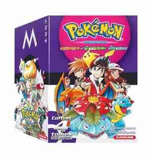 Pokémon Rouge Feu et Vert Feuille-Emeraude : coffret 4 tomes, série complète by Hidenori Kusaka